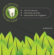 natural miswak toothstick
