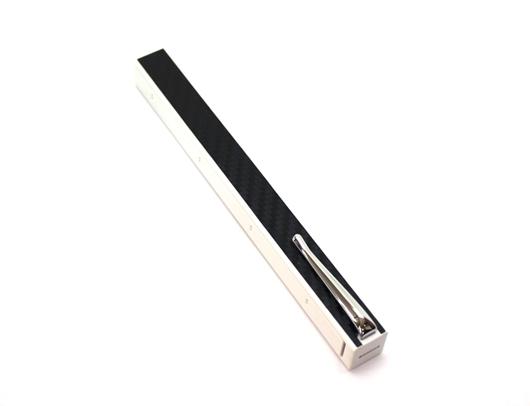 Penwak Miswak Kit White Carbon Fibre Black