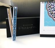 Penwak Kit Pure White Turkish Blue standing